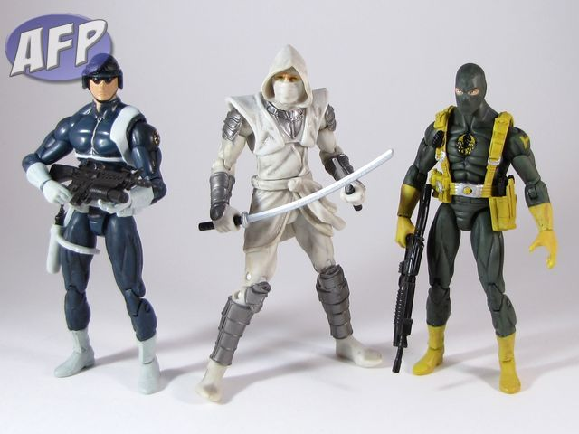 Marvel Universe Toys R Us Exclusive 3-Pack - Soldiers and Henchmen - SHIELD Agent, Hand Ninja, and Agent of HYDRA