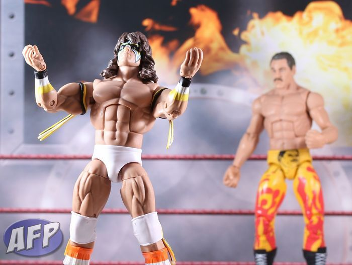 WWE Ultimate Warrior 'Power' Custom Shirt For Mattel Legends Figures.