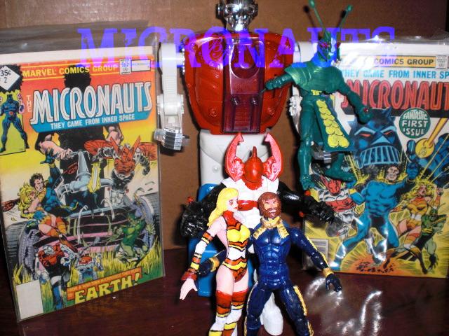 Micronauts with comics