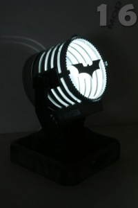 Collect & Connect Build a Bat-Signal complete light up