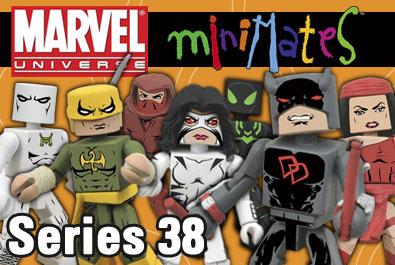 Marvel Minimates série 38 White Tiger
