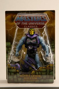 Battle Armor Skeletor. With Axe just as fan's asked. Check out the revised vintage face deco too!