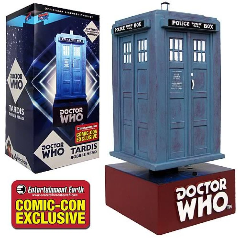 Doctor Who TARDIS Bobble with Sound - Comic-Con Exclusive