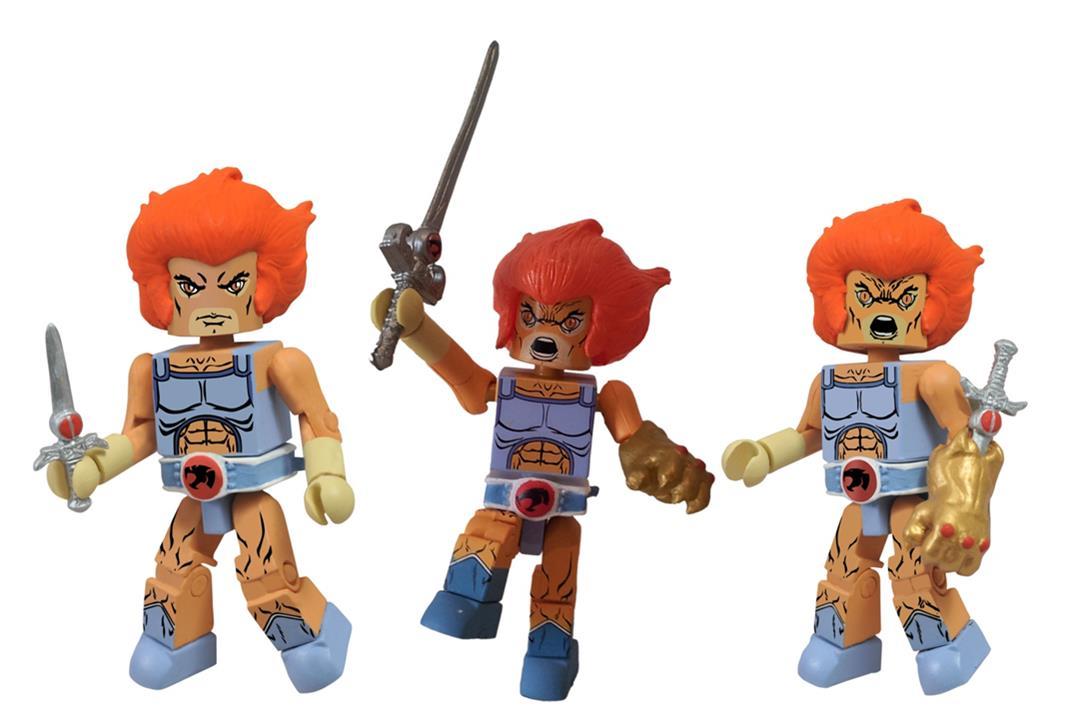 Thundercats Classic Minimates Series 4 Lion-O