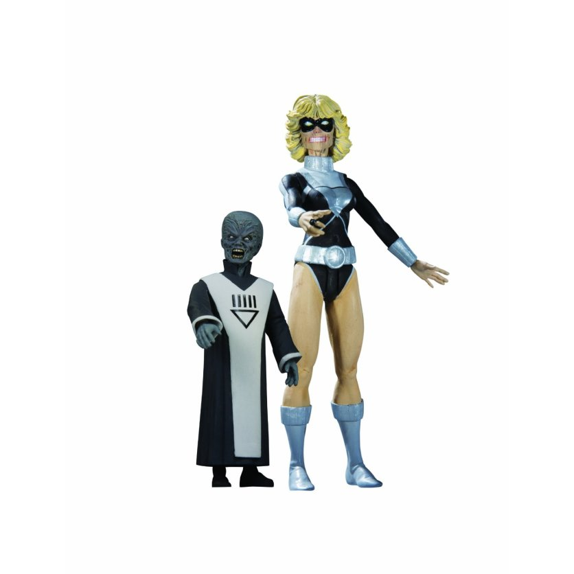 DC Direct Blackest Night Black Lantern Terra and Scar