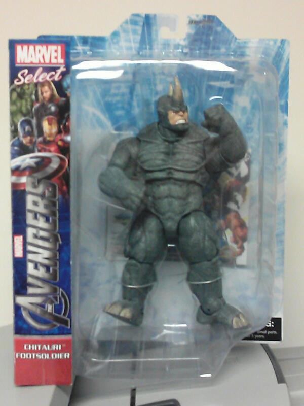 Win a Marvel Select Rhino from Diamond Select Toys