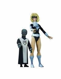 DC Direct Blackest Night Series 7 Black Lantern Terra with Scar Action Figure