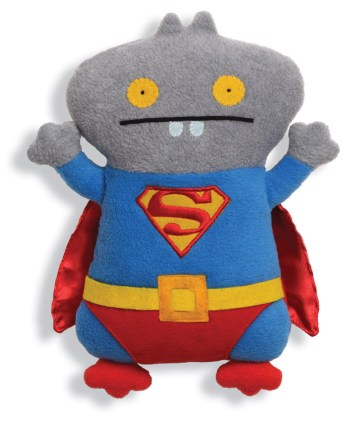 UGLYDOLL Babo as Superman