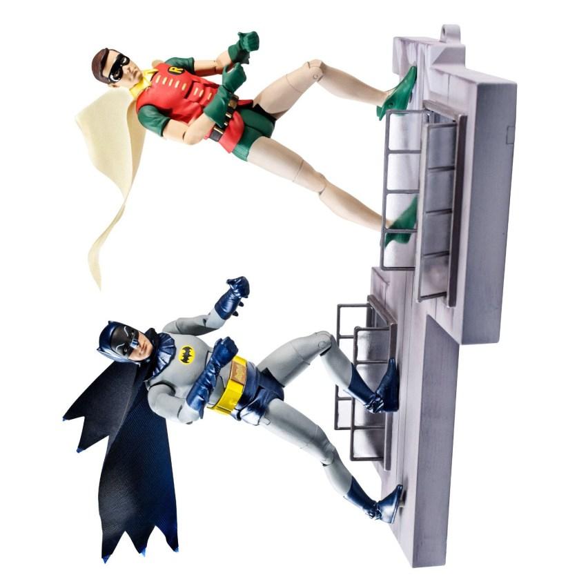 DC Comics Classic TV Series Batman and Robin Action Figure, 2-Pack 2