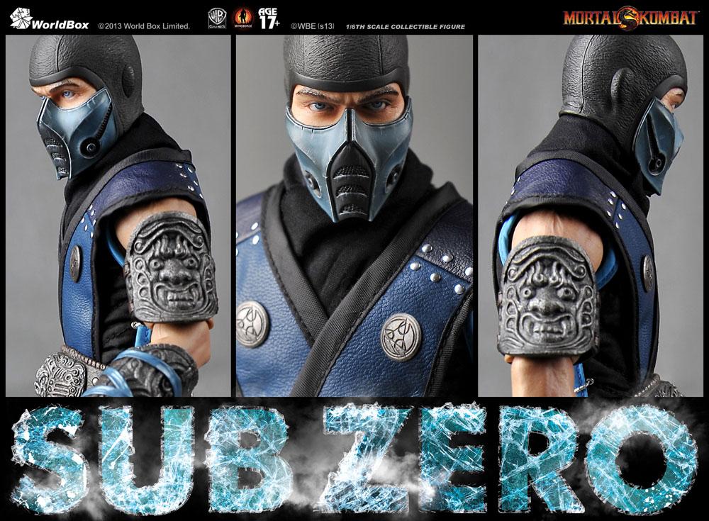 Pre-Order the WorldBox Mortal Kombat 1/6 Scale Sub-Zero