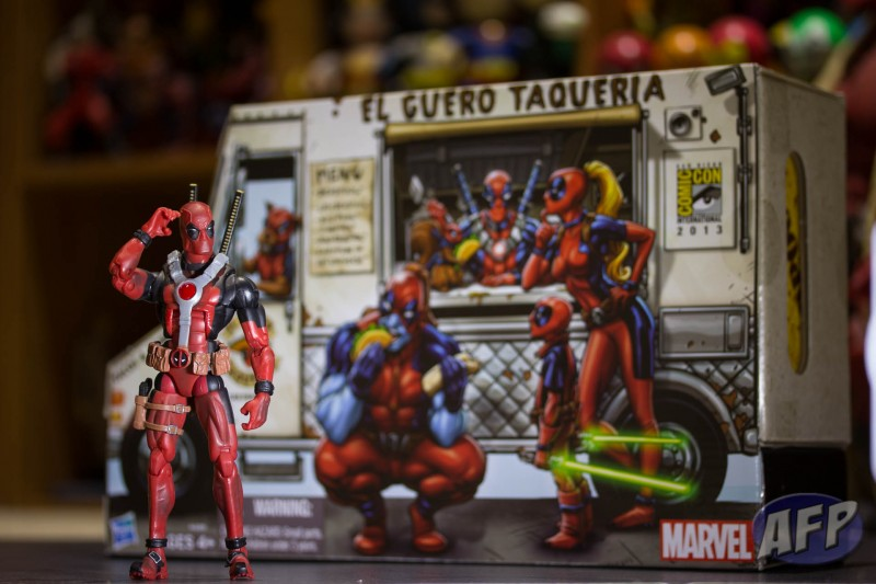 Marvel Legends Deadpool with Marvel Universe Deadpool Corps SDCC 2013 Exclusive