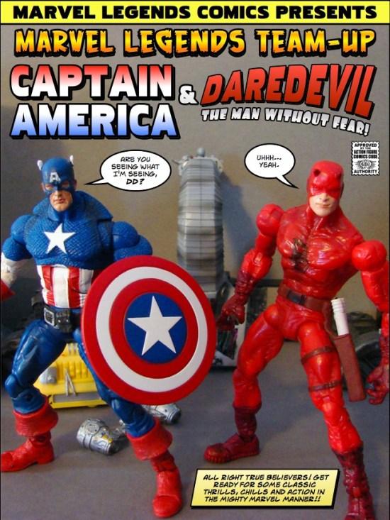 Captain America and Daredevil: Devil's Advocate