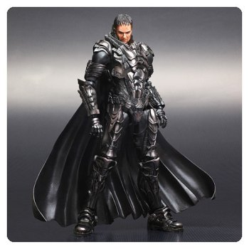 Superman Man of Steel General Zod Play Arts Kai Figure - Free Shipping