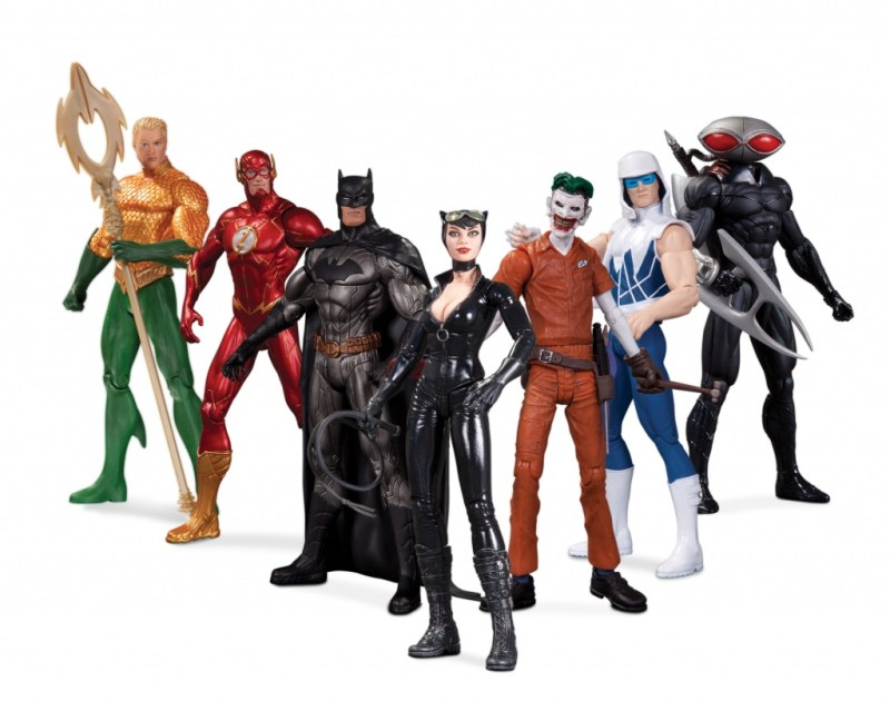 DC Comics The New 52 Super Heroes vs. Super Villains Action Figure 7-Pack