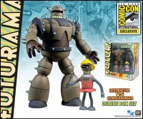 SDCC 2013 EXCLUSIVE FUTURAMA DESTRUCTOR GENDER BENDER BOX SET
