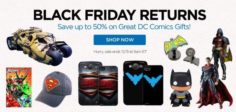 ShopDCEntertainment Black Friday Returns