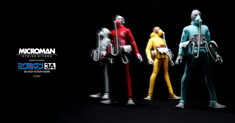 3A Toys Microman Wave One
