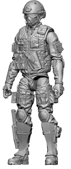 Marauder Task Force Gaming Figures 09