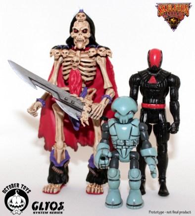 Skeleton Toys Baron Dark by October Toys