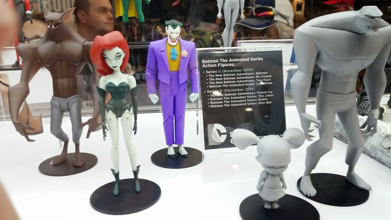 SDCC 2014 DC Collectibles Batman the Animated Series