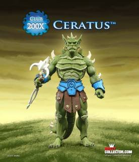 Masters of the Universe Classics Club 200X Ceratus