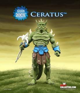 Masters of the Universe Classics Club 200X Ceratus