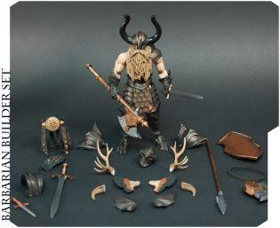 Mythic Legions Barbarian Builder Set 1