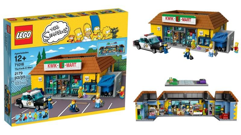 LEGO Simpsons Kwik-E-Mart 71016