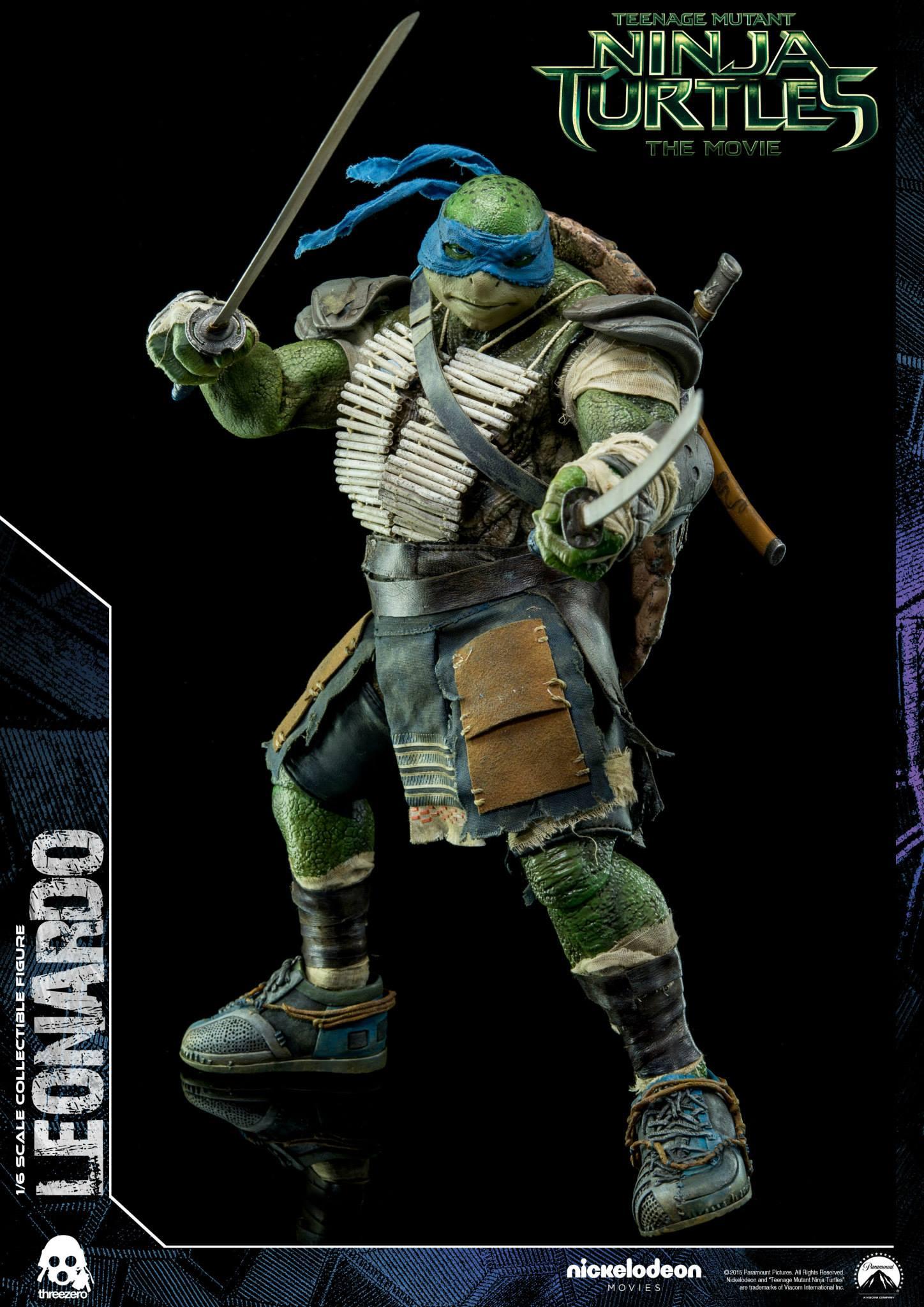 Threezero Announces 1/6 Scale Teenage Mutant Ninja Turtles ...