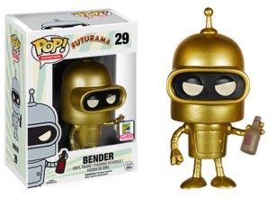 Pop! Animation Futurama - Gold Bender