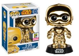 Pop! Star Wars Chrome C-3PO Gold
