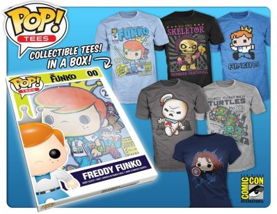 Pop! Tees debut at SDCC 2015