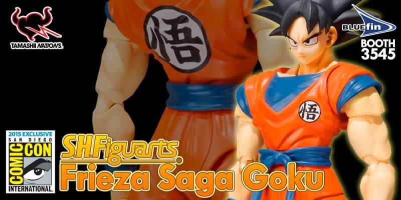 SDCC 2015 Bandai SH Figuarts Goku (Frieza Saga) 1
