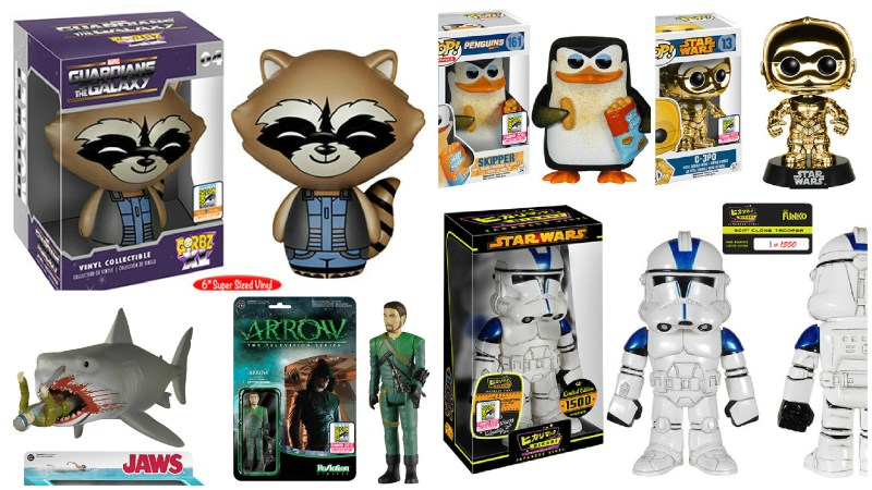 SDCC 2015 Funko Exclusives Reveals Week 2 of 3