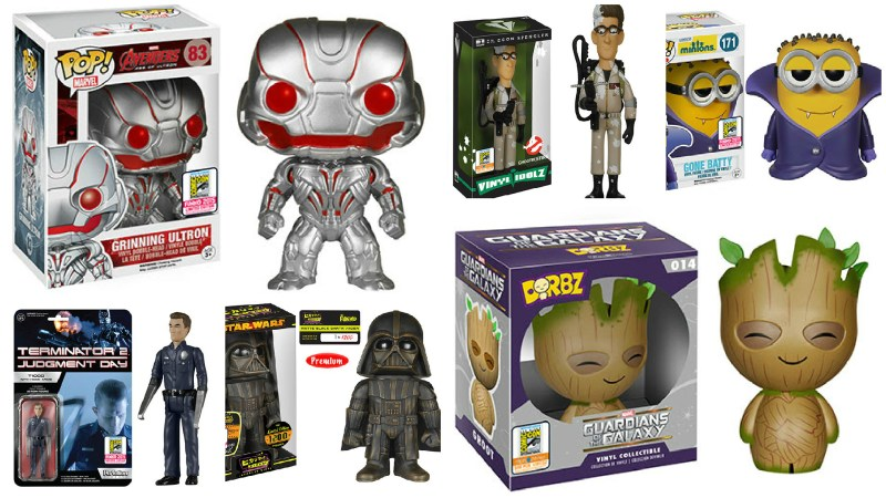 SDCC 2015 Funko Exclusives Reveals Week 3 of 3