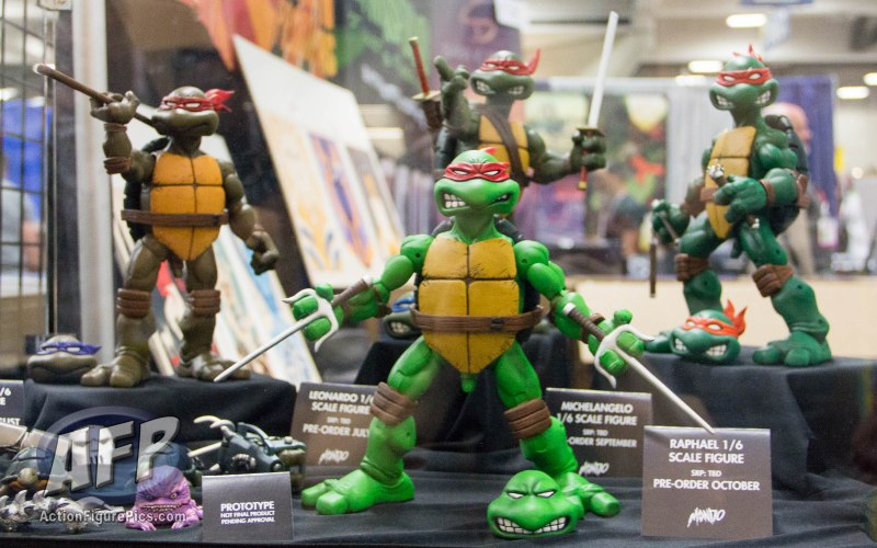 SDCC 2015 - Mondo One Sixth Scale Teenage Mutant Ninja Turtles (1 of 20)