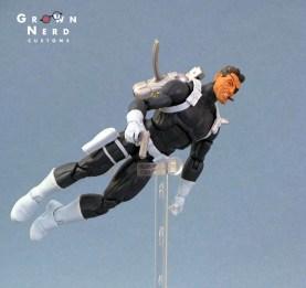 Nick Fury jetpack fly