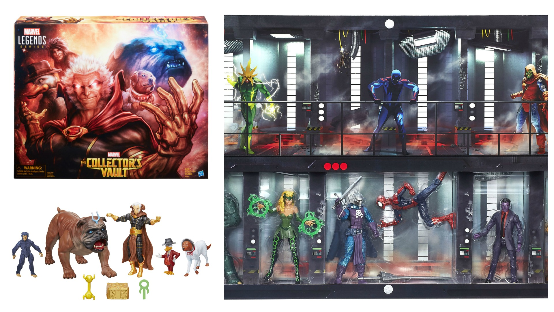 SDCC 2016: Hasbro Reveals Marvel Collector's Vault and Raft