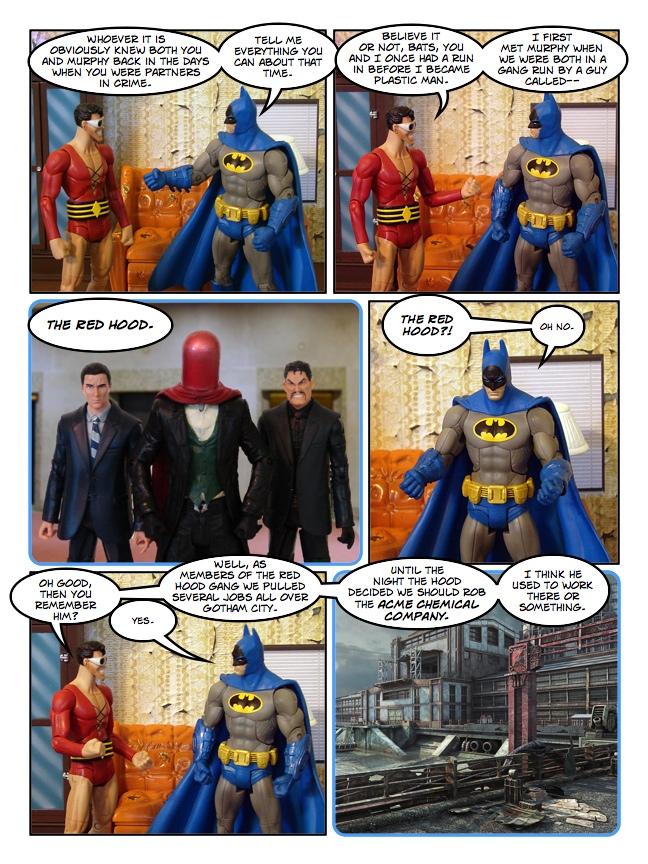 Batman: The Ghost of Christmas Past - Bill's Comics