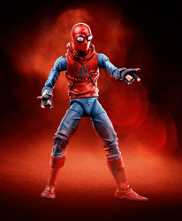 MARVEL LEGENDS SERIES 6-INCH SPIDER-MAN - Homemade Suit