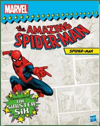 SPIDER-MAN SINISTER 6 3.75-Inch Amazon Exc - Vintage pkg