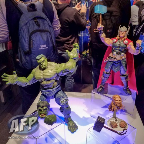 Toy Fair 2017 Marvel Legends 12-Inch Hulk and Thor (1 of 9)
