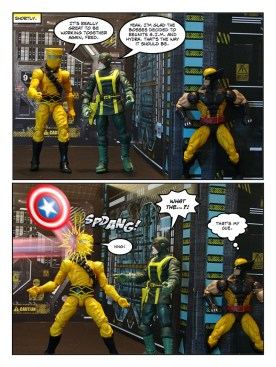 Wolverine, Captain America, and Black Widow - Let's Get Bruce - page 08