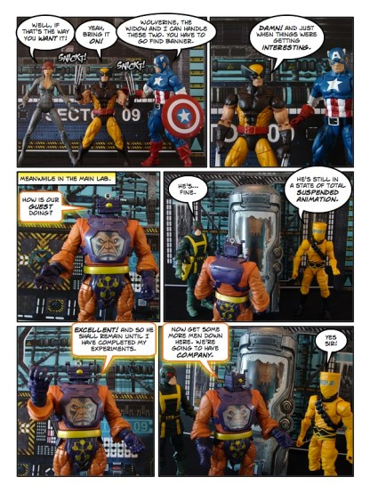 Wolverine, Captain America, and Black Widow - Let's Get Bruce - page 13