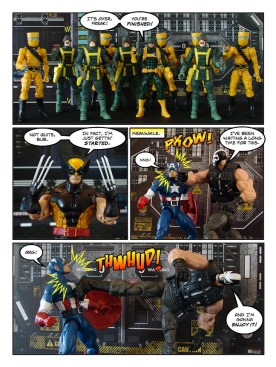 Wolverine, Captain America, and Black Widow - Let's Get Bruce - page 20