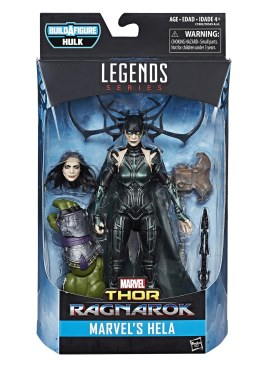 MARVEL THOR RAGNAROK LEGENDS SERIES 6-INCH Figure Assortment - Hela (in pkg)