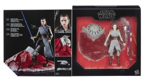 Star Wars The Black Series 6-Inch Rey on Crait - in pack