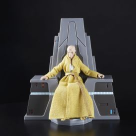 Star Wars The Black Series 6-Inch Supreme Leader Snoke Figure and Throne - oop