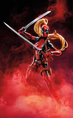 MARVEL DEADPOOL LEGENDS SERIES 6-INCH Figure Assortment (Lady Deadpool) - Wave 2
