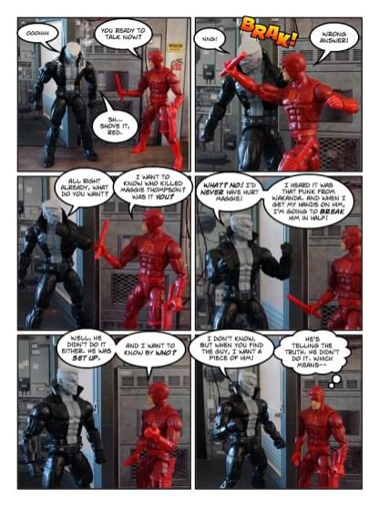 Daredevil - The Wakanda Conspiracy - page 25